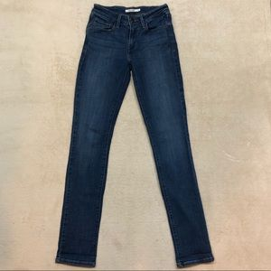 Levi's Women's Mid Rise Skinny Jeans, Size 4